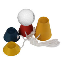Rubber Driving Range Golf Tees Holder Tee Home Training Practice Mat Training