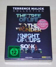 Terrence Malick Collection Limited Edition with Booklet Blu Ray New Ovp