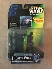 STAR WARS Darth Vader Electronic Glowing Lightsaber Power F/X Toy Action Figure
