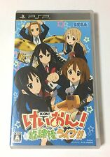 USED PSP K-On Houkago Live JAPAN Sony PlayStation Portable import Japanese game