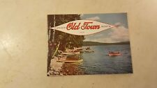 1958 Old Town Canoe Catalog * Really Nice *