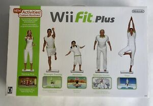Nintendo Wii Fit Plus With Balance Board and Game - BRAND NEW - SEALED