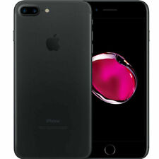 Apple iPhone 7 Plus - 32GB -  Negro Mate (Libre)
