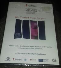 dvd theatre the playhouse northern Ireland troubles we carried your secrets docu