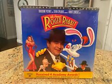 WHO FRAMED ROGER RABBIT 2-Laserdisc LD WIDESCREEN CAV STANDARD PLAY VERY RARE!