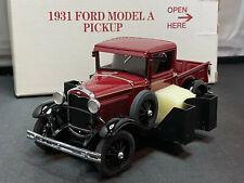 Danbury Mint 1931 Ford Model A Pickup Truck 1/24 Scale Diecast New