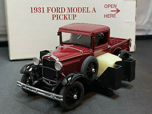Danbury Mint 1931 Ford Model A Pickup Truck 1/24 Scale Diecast New