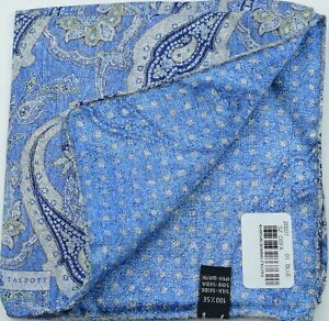 NEW Robert Talbott Silk Pocket Square *$95 retail* NWT (031921)