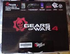 gear of war 4 coffret goodies huge crate hugecrate fanbox neuf collector