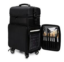 Nylon Makeup Beauty Cosmetic Trolley Case Organizer Hairdresser Nail Artist 849S
