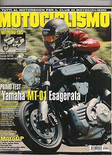 DICEMBRE 2004  MOTOCICLISMO - YAMAHA MT 01 APRILIA SR 50 KTM 990 DUCATI MONSTER