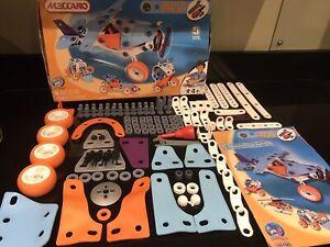 Meccano Build & Play 5 Model Set Incl Plane Complete