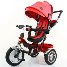 4 en 1 Little Bambino poussette Tricycle Trike-Red Kids multifonction Tricycle U...