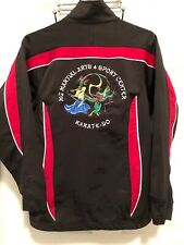 Martial Arts Embroidered Jacket Sz Small
