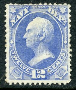 1873 12c NAVY OFFICIAL MINT O41