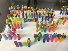Vintage PEZ DISPENSER Lot of 100+ - Truck, Whistle, Muppets, Flintstones, Snoopy