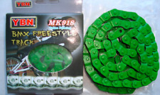 New YBN YABAN BMX Track Single Speed Bicycle Bike Half Link Chain MK918 - Green