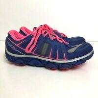 Brooks PureFlow 2 Women's Size US 6 (B) Athletic Running Shoes Blue/Hyper Pink
