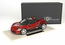 Alfa Romeo 4C Wtcc 2014 Red Pastello Vr 289 TopMarques 1:18 TOP011