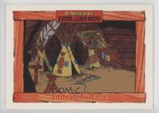 1991 Impel An American Tail: Fievel Goes West #66 Indian Village Card 0c4