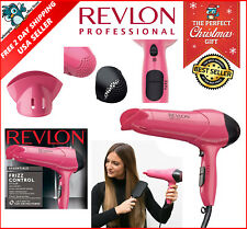 Professional Blower 1875W Ionic Ceramic Style Blow Hair Dryer Frizz Control Pink