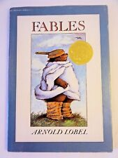 Fables by Arnold Lobel - *SIGNED & INSCRIBED* - 1980 First Edition - HCDJ - RARE