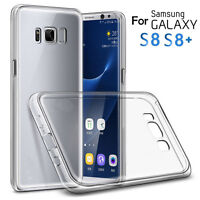 Anti-Scratch Shockproof TPU Clear Back Cover Case For Samsung Galaxy S8/ S8 Plus