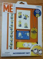 Despicable Me Minions Accessory Set *NIP* Ages 3+ Dogtag Bracelet Stickers