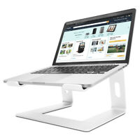 "Portable Dismountable Laptop Stand Holder Riser For 10-17"" Notebook MacBook"