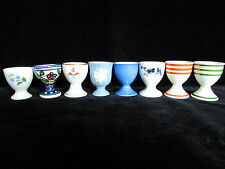 8 Egg Cups Rare Variety Japan England Germany Wedgwood etc