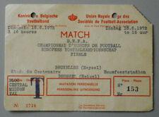Eintrittskarte Fußball EM 1972 FINALE BRD - Sowjetunion, Ticket the Final
