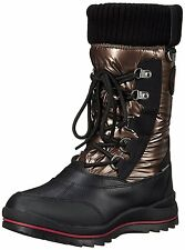 Cougar Womens Como Waterproof Snow Boot, Bronze, US 7 M, Rated -30