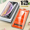 11D Curved FULL Cover Tempered Glass Screen Protector Film For iPhone Xs 8 Plus