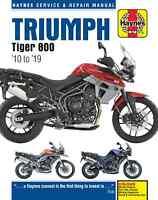 Triumph Tiger 800/800XC 2010-2019 Repair Manual