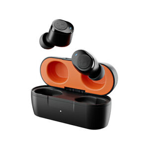 Skullcandy Jib True Wireless Earbuds - True Black/Orange