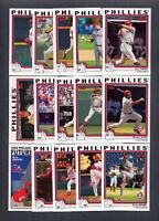2004 Topps Philadelphia Phillies TEAM SET - (33) Cards