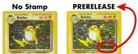 ⭐ VINTAGE HOLO RARE PRERELEASE POKEMON CARD ! ⭐ Pokémon From Original Sets WOTC