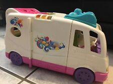 Fisher Price Loving Family Camper Rv Motor Home Dollhouse Camping Vacation