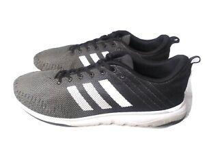 Adidas Cloudfoam Sneakers HWA 1Y3001 Men's Size 14 Black & Grey Adidas Shoes