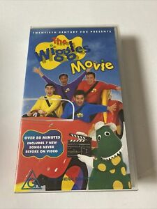 The Wiggles Movie (VHS, 1997) PAL Video Original line up