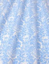 Baumwolldruck, Ornamente, bleu-weiß, 150 cm breit, Meterw, ab 0,5 m (€ 8,00/qm)