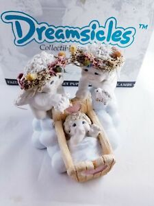 Dreamsicles Counting Sheep Cherub Angel Figure Cast Art Industries
