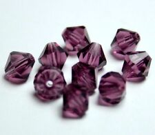 Preciosa Perlen Amethyst Rondell Beads 7 mm *** high quality ***