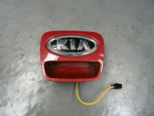 2011 Kia Ceed 3dr 1.6CRDI Rear Tailgate Hatch Boot Release Button (RED - A0)