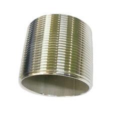"""304 Stainless Steel Pipe Nipple 3"""" X 3"""""""