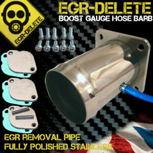 Fits LAND ROVER DEFENDER & DISCOVERY 2 TD5 EGR DELETE REMOVAL KIT BLANKING PLATE