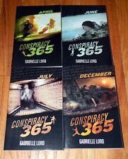 LOT 4 CONSPIRACY 365 Children CHAPTER Books APRIL June JULY Dec GABRILLE LORD