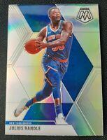 2019-20 Panini Mosaic Julius Randle SP Silver Refractor #81 New York Knicks