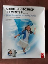 ADOBE PHOTOSHOP ELEMENTS 8 Education Version Software Complete NEW In Box CIB
