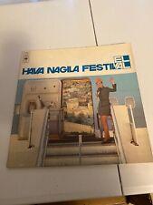 EL AL Airlines Hava Nagila Festival CBS 69029 LP Rcord album RARE*^